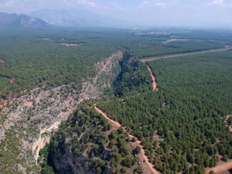 Güver Kanyonu, Antalya