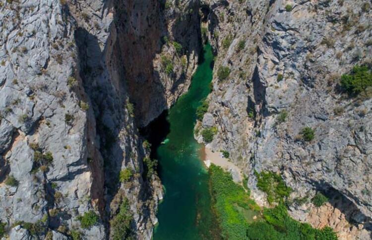 Kapuz Kanyonu, Antalya