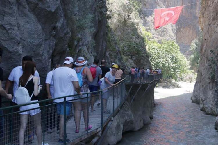 Saklıkent Kanyonu, Muğla