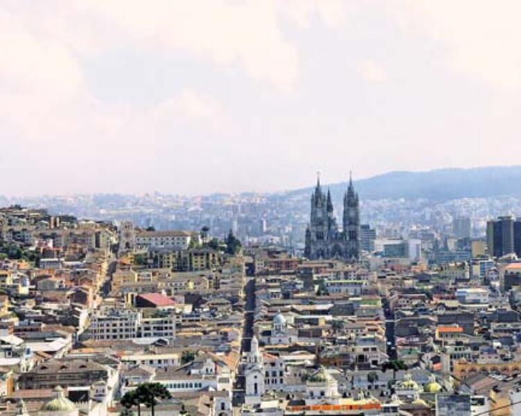 Quito, Ekvator