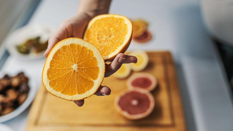 Hasta olmadan C vitamini tüketilmeli