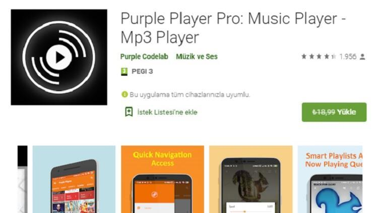 Purple Player Pro: Music Player
