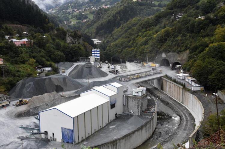 Yeni Zigana Tüneli Projesi