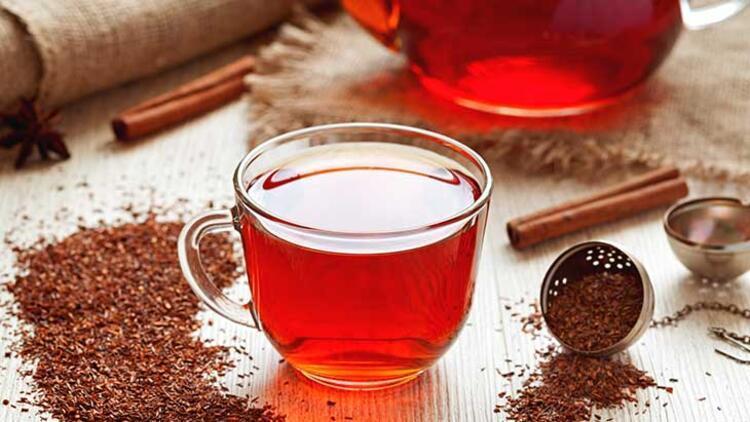 Limonlu rooibos çayı
