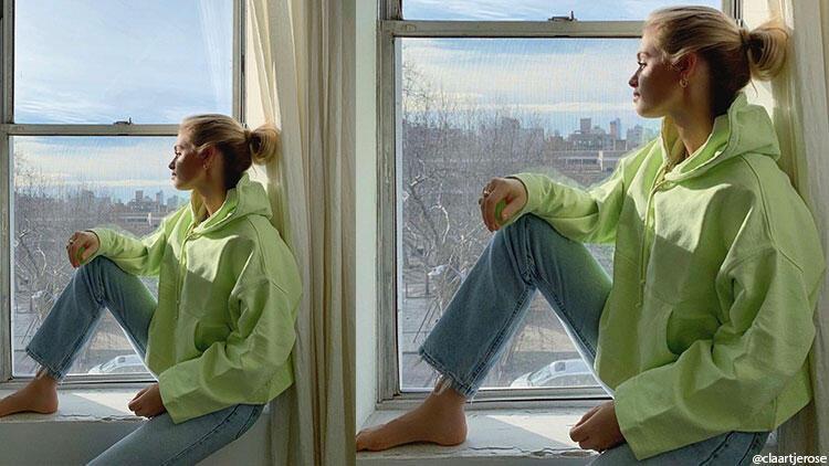 Sezona uygun sweatshirtler