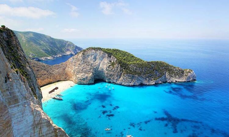 Zakintos adası, Yunanistan