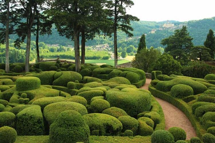 Marqueyssac Bahçeleri, Fransa