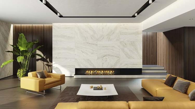 Duvara 3 boyutlu görünüm veren kağıtlar kullanın