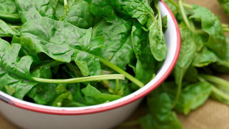 9-Koyu yeşil yapraklı sebzeler