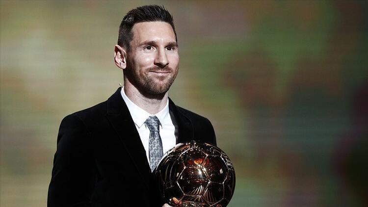 Messi 6. kez Altın Topu kazandı