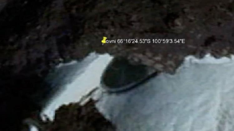 Antarktikada ürpertici keşif Google Earthte bulundu...