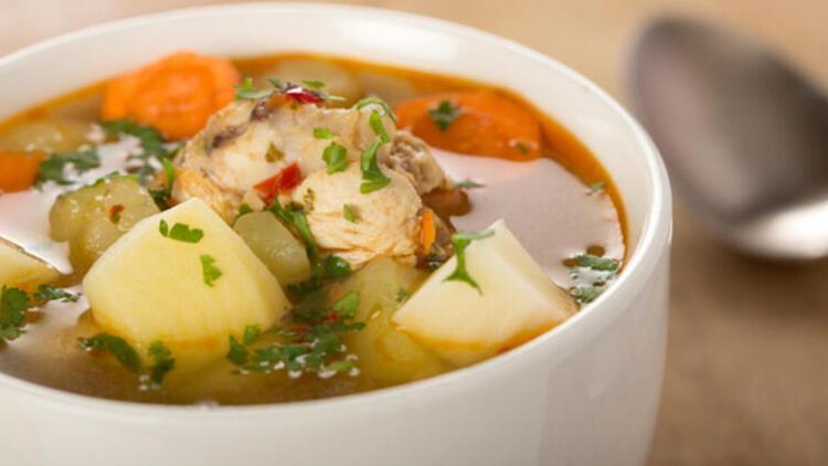 2-Tavuk suyu çorba