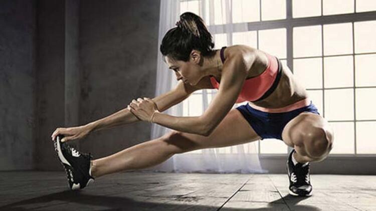 Egzersiz öncesi ve sonrası kasları güçlendirir