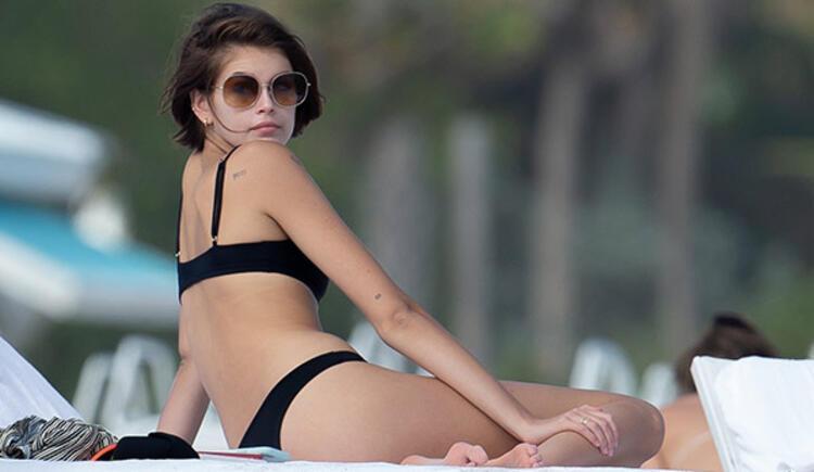 Kaia Gerber, Miami tatilinde 1