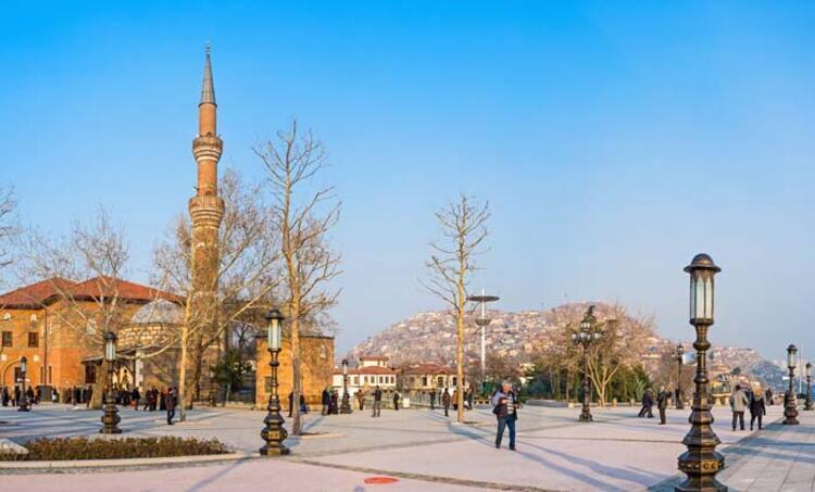 Hacı Bayram Camii - Augustus Tapınağı