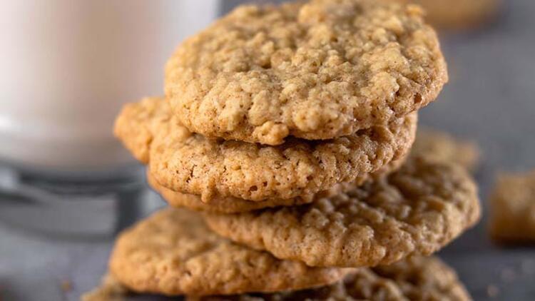 Yulaflı ve muzlu kurabiye tarifi