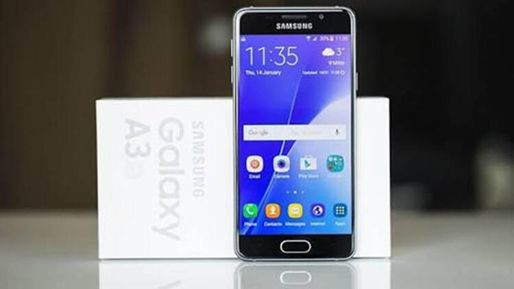 Samsung Galaxy A3 / 23 saat 25 dakika