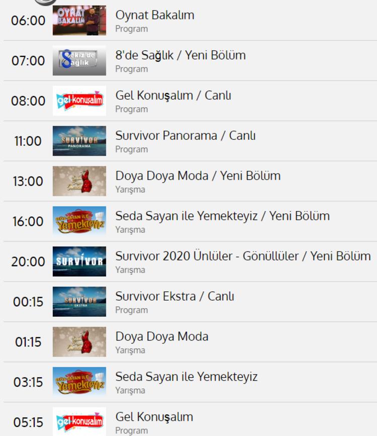 TV8 yayın akışı 19 Şubat Çarşamba | TV8'de bugün neler yayınlanacak? İşte 7  günlük liste
