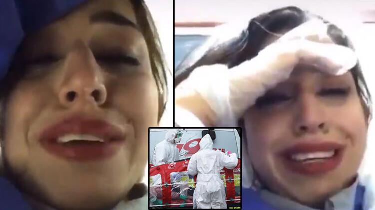 Son dakika: Corona virüsü haberleri...İranlı hemşire böyle ...