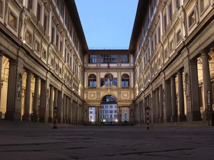 Uffizi Galeri, Floransa