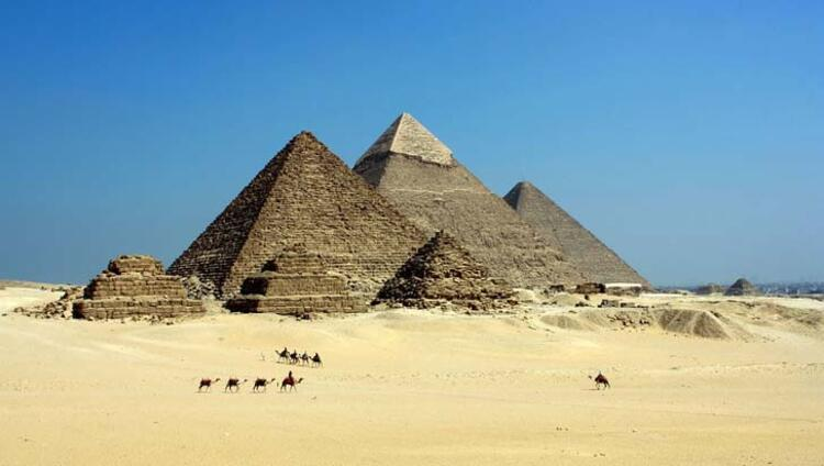Piramitler, Kahire