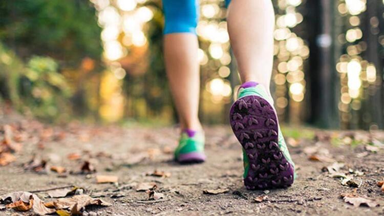 Her gün en az yarım saat yürüyün
