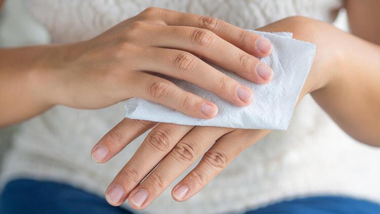 Ellerimizi yıkadıktan sonra kurulamazsak ne olur