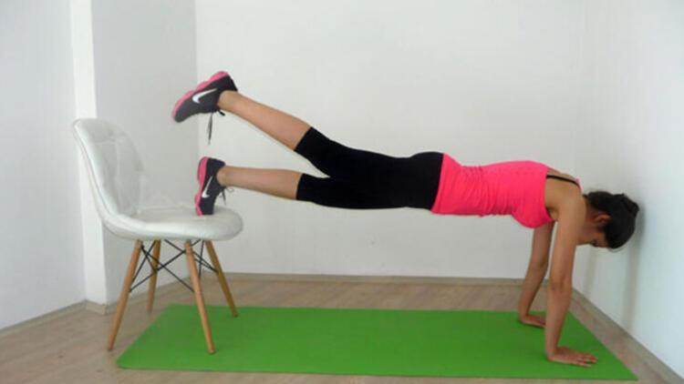 Kardiyovasküler egzersizler: Sandalyeler ve merdivenler