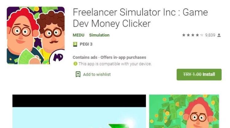 Freelancer Simulator Inc: Game Dev Money Clicker
