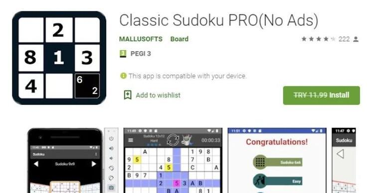 Classic Sudoku Pro