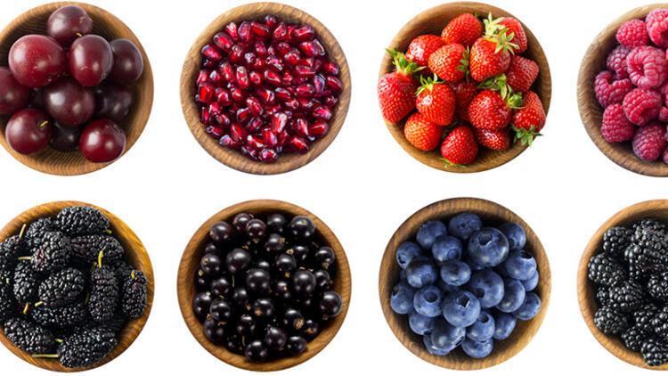 3-Kırmızı meyveler