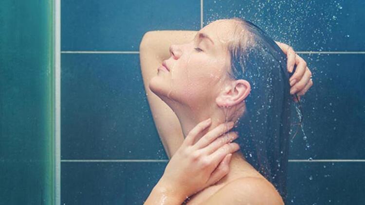 Ilık veya soğuk su ile duş alın