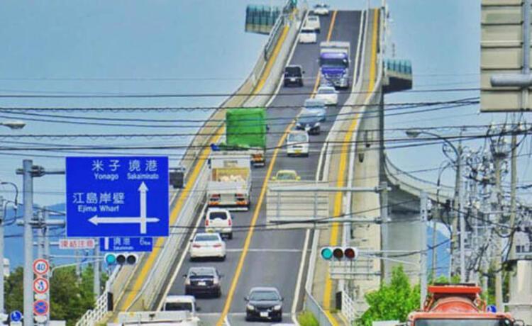 Eshima Ohashi Köprüsü, Japonya