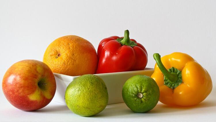 5-Sebze ve meyveye önem verin