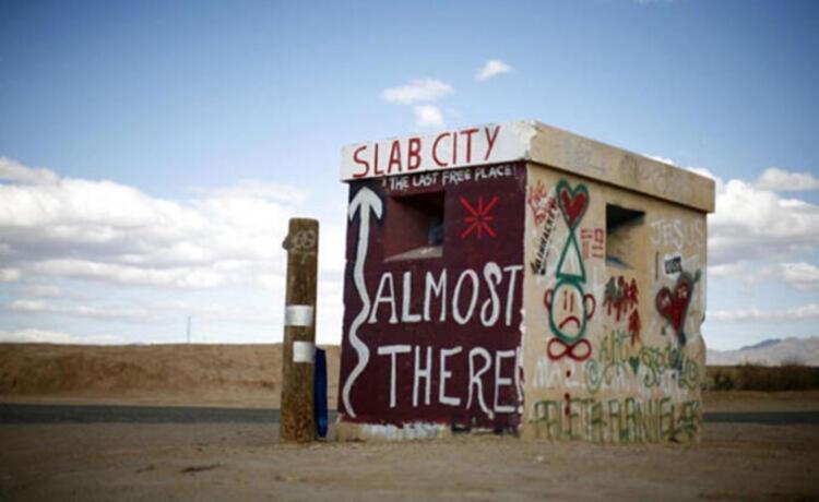 Slab City, ABD