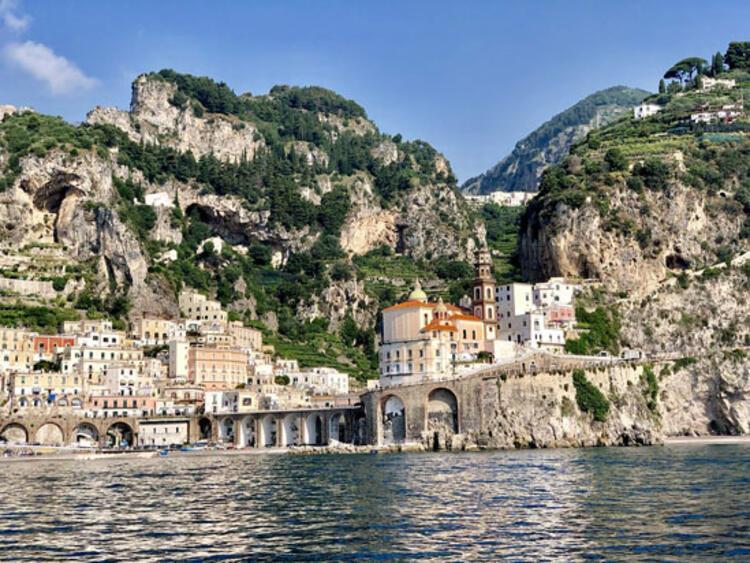 Amalfi kıyıları, İtalya