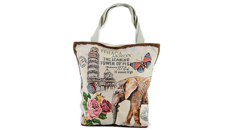 Alışveriş yaparken annenden bez torba kullanmasını isteyebilirsin