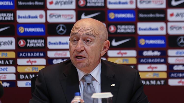 Türkiye Futbol Federasyonu ile görüşme gerçekleşmişti