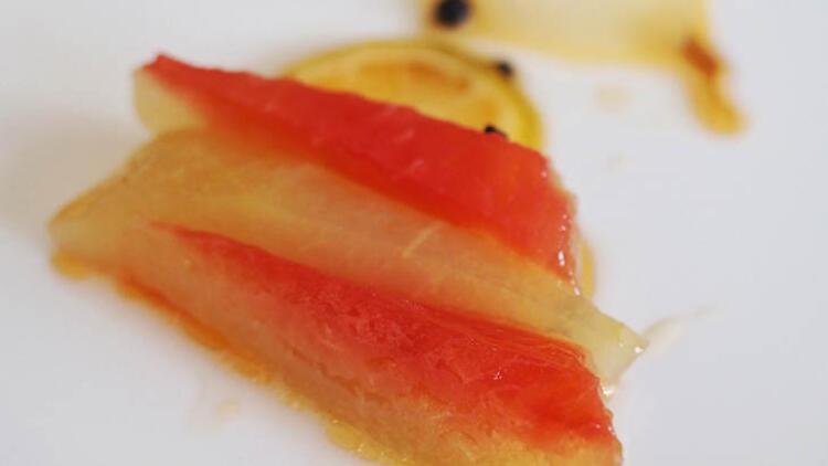 Zeytinyağlı karpuz kabuğu
