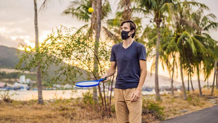 6-Spor yaparken maske takmak risk oluşturabilir