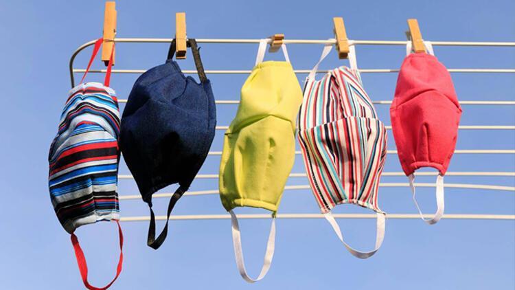 1-Kumaş maskeleri her gün yıkayın