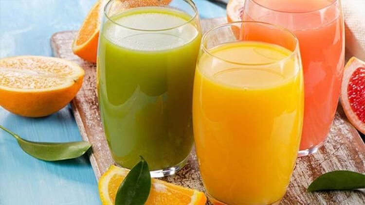 Serinlemek amacıyla şekerli içecekler veya hazır meyve suyu tüketmek