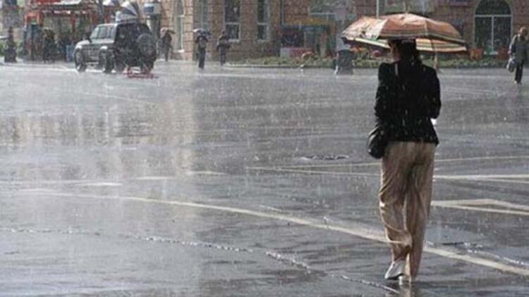 Marmaranın batısında kuvvetli yağış bekleniyor