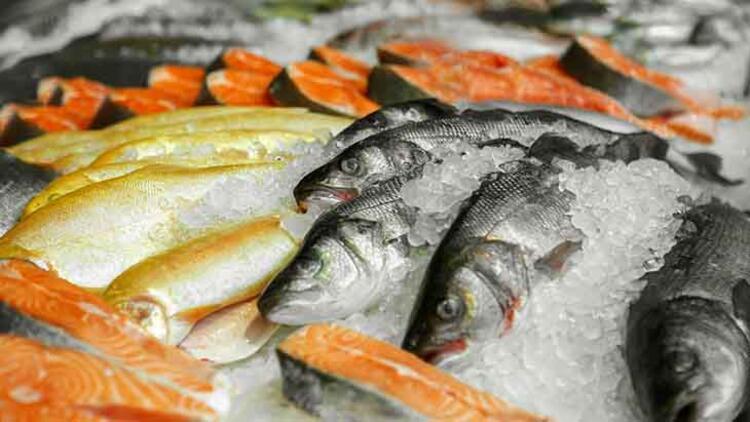 Balık satın alırken...