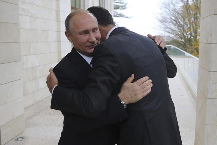 Rusyanın boynundaki yük
