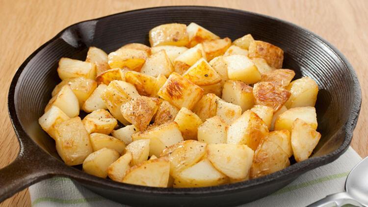 Patatesi sabah yersek böyle oluyor