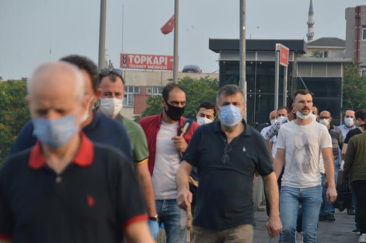 MASKE TAKALIM DİYENLER, MASKE TAKMIYOR