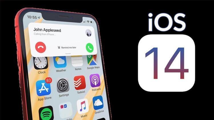 iOS 14 hangi telefonlara geldi