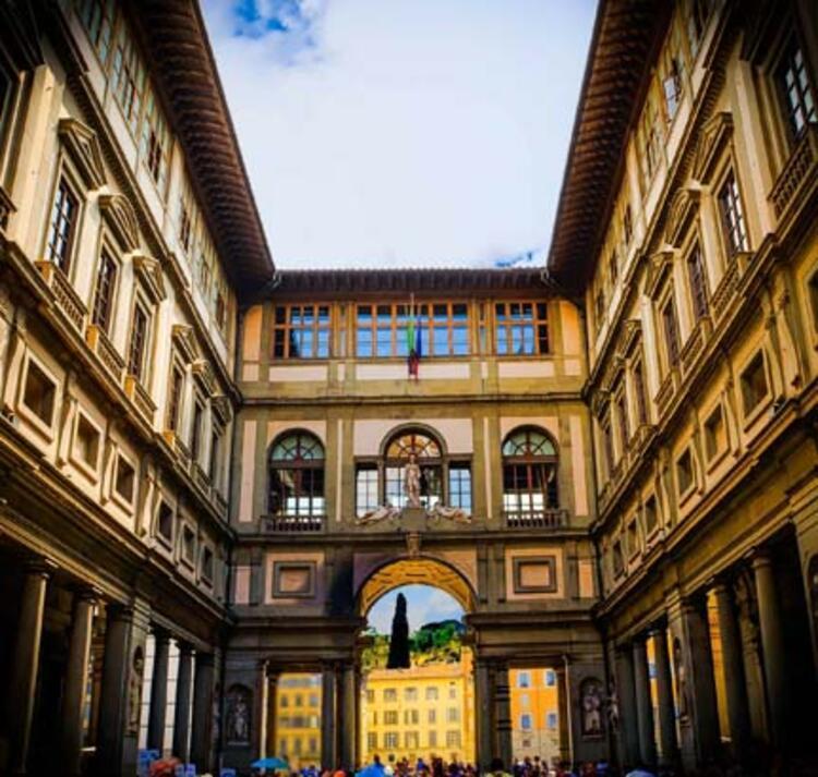 3- Uffizi Galerisi