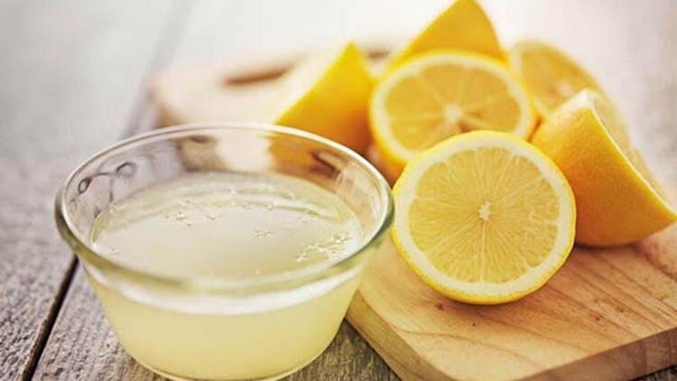 Sirke yoksa limon var